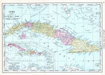 Cuba, World Atlas 1913